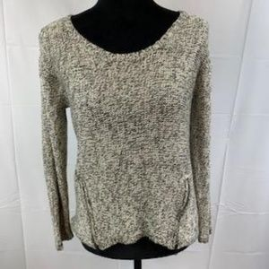 Quinn Oversized Sweater with 2 Accent Zippers
